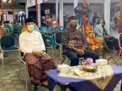 Pelaksanaan pengajian dalam rangka Merti Desa di Kelurahan Purworejo, Senin malam (01/03/2021), dilaksanakan dengan Prokes - foto: Sujono/Koranjuri.com