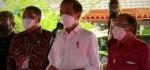 Jokowi Berada di Ubud Pantau Vaksinasi di Zona Hijau