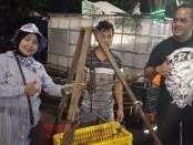 Pelan dan pasti, pasar ikan di taman Balekambang menggeliat dengan cepat - foto: Koranjuri.com