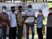 Deklarasi Desa Cacaban Kidul menjadi Desa Anti Politik Uang di Purworejo, Rabu (24/03/2021) - foto: Sujono/Koranjuri.com