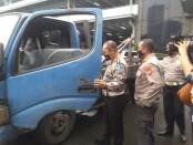 Ditlantas Polda Metro Jaya mengamankan derek liar di Tol Halim, Jakarta Timur - foto: Istimewa