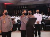 Kapolri Jenderal Polisi Listyo Sigit Prabowo melaunching SP2HP (Surat Pemberitahuan Perkembangan Hasil Penyidikan) dan e-PPNS berbasis online di Rupatama Mabes Polri, Jakarta Selatan, Senin (26/4/2021) - foto: Istimewa