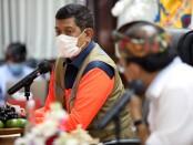 Kepala Badan Nasional Penanggulangan Bencana (BNPB) sekaligus Ketua Satuan Tugas (Satgas) Penanganan Covid-19 Letjen TNI Doni Monardo bersama Gubernur Bali Wayan Koster - foto: Istimewa
