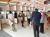 Simulasi layanan GeNose C-19 di Bandara I Gusti Ngurah Rai, Bali, Kamis, 8 April 2021 - foto: Istimewa