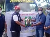 Komunitas Tirosa, Mimika, mendistribusikan Bantuan untuk Pengungsi Bencana di NTT - foto: Isak Doris Faot/Koranjuri.com