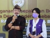 Wakil Rektor 3 ITB STIKOM Bali I Made Sarjana, SE., MM dan Koordinator SIP3 Dr. AAA Ngurah Tini Rusmini Gorda, SE., MM., MH - foto: Istimewa