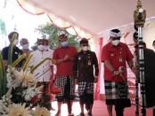 Bupati Kabupaten Tabanan I Komang Gede Sanjaya meresmikan penggunaan pembayaran e-Retribusi berbasis QRIS, Kamis, 22 April 2021 - foto: Koranjuri.com