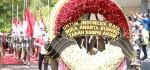 Karangan Bunga Merah Putih, Ucapan Duka untuk 53 Prajurit Hiu Kencana dari Megawati Soekarnoputri