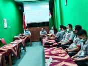 Tim asesor dari BNSP yang diketuai Slamet RG saat melakukan Witness di LSP P1 SMK TKM Purworejo, Minggu (30/04/2021) - foto: Sujono/Koranjuri.com