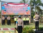 Gelar pasukan Operasi Ketupat Candi 2021 di Mapolres Purworejo, Rabu (05/05/2021) - foto: Sujono/Koranjuri.com