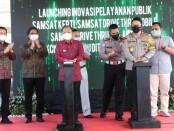 Gubernur Bali Wayan Koster menghadiri Launching Inovasi Pelayanan Publik yang diinisiasi oleh Polda Bali, Jumat, 7 Mei 2021 - foto: Istimewa
