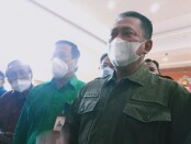 Ketua MPR RI Bambang Soesatyo memberikan sosialisasi empat pilar MPR RI di Universitas Mahasaraswati Denpasar, Selasa (18/5/2021) - foto: Totok Waluyo/Koranjuri.com