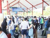 Lalu Lintas penumpang di Bandara Ngurah Rai Bali di masa adaptasi kebiasaan baru pandemi Covid-19 - foto: Istimewa