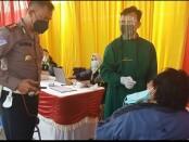 Ada Layanan Swab Antigen dan Vaksin Covid-19 Gratis di SIM Keliling Polrestro Bekasi - foto: Istimewa