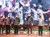 Gubernur Bali Wayan Koster menghadiri peringatan HUT Ke-59 BPD Bali di Gedung Ksirarnawa, Art Center-Denpasar, Sabtu (5/6/2021) - foto: Istimewa