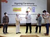 United Nations Development Programme (UNDP) menjalin MoU bersama Indosat Ooredoo untuk sejumlah rencana kerja terkait dampak pandemi covid-19 di kalangan usaha mikro, kecil dan menengah (UMKM) - foto: indosatooredoo.com