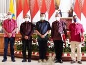 Pemprov Bali menyelenggarakan Webinar Bulan Bung Karno Ke-3 yang dibuka oleh Sekretaris Daerah Provinsi Bali Dewa Made Indra dari Gedung Gajah, Jayasabha, Minggu (6/6/2021) - foto: Istimewa