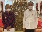 Gubernur Bali Wayan Koster diundang mengikuti rapat terbatas oleh Presiden Joko Widodo di Istana Merdeka, Senin, 7 Juni 2021 - foto: Istimewa