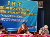 Pelaksanaan IHT di SMK YPP Purworejo, Sabtu (12/06/2021) - foto: Sujono/Koranjuri.com