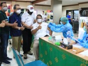 Vaksinasi di kalangan perbankan - foto: Istimewa