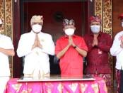 Gubernur Bali Wayan Koster meresmikan gedung MDA Kabupaten Bangli yang berdiri megah di atas lahan milik Pemerintah Provinsi Bali seluas 10 are - foto: Istimewa