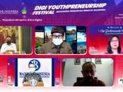 Bank Indonesia bekerjasama dengan LLDIKTI Wilayah VIII menyelenggarakan rangkaian 'Digi Youthpreneurship Festival' untuk 1.500 mahasiswa secara daring - foto: Istimewa
