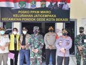 Kapolri Jenderal Polisi Listyo Sigit Prabowo bersama Panglima TNI Marsekal Hadi Tjahjanto meninjau vaksinasi massal di Bekasi dan JIEXPO Jakarta Utara dan Pondok Pesantren Al-Hamidi Cilangkap, Jakarta Timur - foto: Istimewa