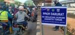 Aparat Gabungan, Giat PPKM Darurat Jaga Ketat Perbatasan Lampiri-Duren Sawit