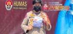 Polsek Tambelang Bekasi Fasilitasi Vaksin di Pondok Pesantren Nurul Inayah