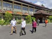 Isolasi terpusat menggunakan tempat di Gedung Lembaga Penjamin Mutu Pendidikan (LPMP) - foto: Istimewa