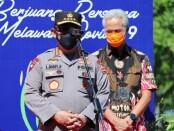 Kapolri Jenderal Listyo Sigit Prabowo bersama Gubernur Jawa Tengah Ganjar Pranowo - foto: Istimewa