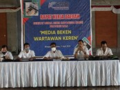 Rapat Kerja Daerah (Rakerda) Serikat Media Siber Indonesia (SMSI) Provinsi Bali di Gedung PWI Bali, Denpasar, Senin, 26 Juli 2021 - foto: Istimewa