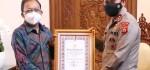 Kapolri Beri Penghargaan Gubernur Bali Atas Prestasi Penanganan Covid-19