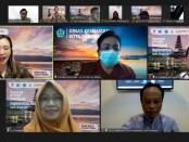 Suasana webinar 'Ideathon Bali Kembali' - foto: Istimewa
