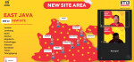 Indosat Ooredoo Tambah 500 Site Baru di Jawa Timur dan Bali Nusra