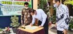 Peresmian Jembatan Penghubung dan Rehab Mushola di HUT SMPN 4 Purworejo ke 63