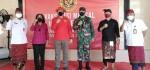 Vaksinasi Lanjutan Pelajar Digelar di SMA Negeri 5 Denpasar Bersama BIN Bali