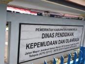 Kantor Dinas Pendidikan Kepemudaan dan Olahraga Kabupaten Purworejo - foto: Sujono/Koranjuri.com