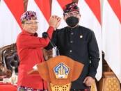 Gubernur Bali Wayan Koster (kiri) dan Wakil Gubernur Bali Tjokorda Oka Artha Ardhana Sukawati (kanan) - foto: Istimewa