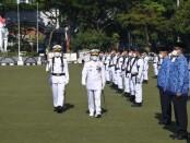 Peringatan Hari Jadi Ke-76 TNI Angkatan Laut tahun 2021 di Lapangan Arafuru Mako Koarmada I, Jalan Gunung Sahari No. 67 Jakarta Pusat, Jumat (10/9/2021) - foto: Istimewa