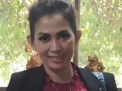 Mantan Menteri Keuangan DPP Pasoepati, Milia Jatmiati, SH, yang mengundurkan diri - foto: Isimewa