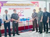 Jajaran Yayasan Pembaharuan dan Kepala SMK PN-PN2 Purworejo, bersama tim ICPN - foto: Sujono/Koranjuri.com