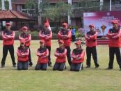 Skuat Kempo yang akan berlaga di PON XX 2021 Papua - foto: Yan Daulaka