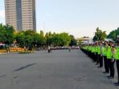 Apel persiapan Operasi Patuh Jaya 2021 di Lapangan Presisi Polda Metro Jaya, Senin, 20 September 2021 - foto: Istimewa