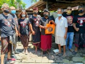 Sahabat Ganjar Provinsi Bali dan Kabupaten Badung menggelar aksi sosial - foto: Istimewa