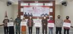 Dandim 0735/ Surakarta Bersama Walikota Solo Menyerahkan Bantuan Tunai Untuk PKL Dan Warung