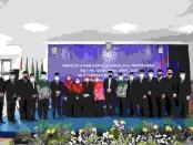 Pengukuhkan 14 kepala sekolah atau Madrasah Muhammadiyah dari tingkat SD/MI, SMP, SMA, SMK, dan SLB Muhammadiyah Purworejo, Sabtu (02/10/2021) - foto: Sujono/Koranjuri.com