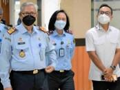 Kepala Kantor Imigrasi Kelas I Non TPI Tangerang, Felucia Sengky Ratna, menerima kunjungan kerja reses Anggota DPR Komisi III, Moh Rano Al Fath, Selasa, (19/10/2021) - foto: Istimewa