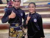 Kadek Febrinata dan Kadek Astini sama-sama lolos ke final nomor seni PON Papua 2021- foto: Yang Daulaka/Koranjuri.com