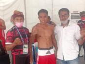 Julio Bria menyusul rekannya Kornelis ke final PON Papua - foto: Yan Daulaka/Koranjuri.com